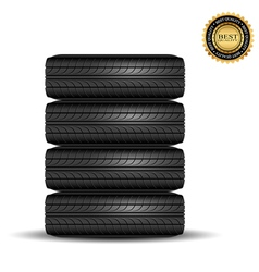 Tire black best1 vector