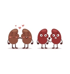 Human liver characters vector