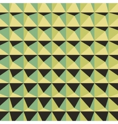 Abstract 3d geometric pattern Polygonal vector image vector image