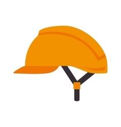 helmet security industrial equipment vector image vector image