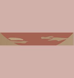 vintage banner frame vector image vector image
