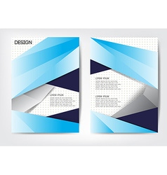 Cover report design template modern style Can use vector image