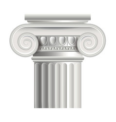 Object roman or greek column vector