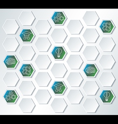 Science and education abstract background vector image