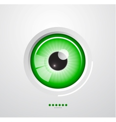 Eye background vector image