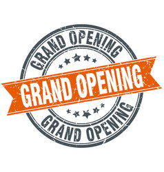Grand opening vector