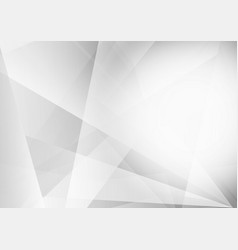 gray and white color geometric modern background vector image vector image