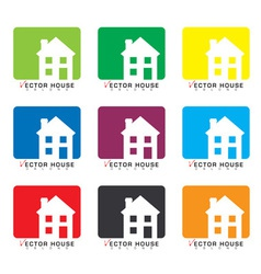House icon collection vector