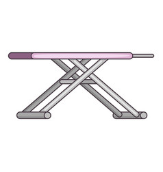 ironing board icon cartoon style vector image