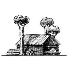 Sawmill vector
