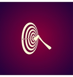 target icon vector image