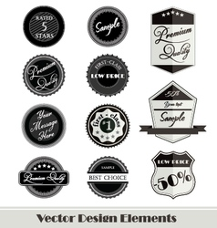 design elements for web vector image