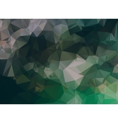 Dark abstract background polygon vector image vector image