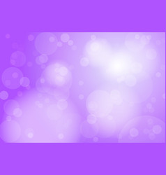 purple violet bokeh abstract background vector image