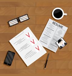 Recruitment concept vector