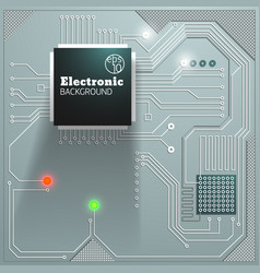 Electronic board background vector
