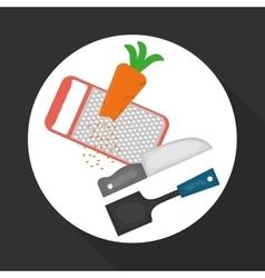 Chef design supplies icon restaurant concept vector