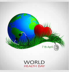 Health day world vector
