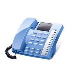 landline phone vector image vector image