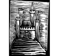 Medieval Castle vector image vector image