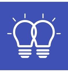 Merging Ideas vector image
