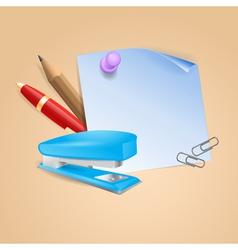 School background 2 vector image