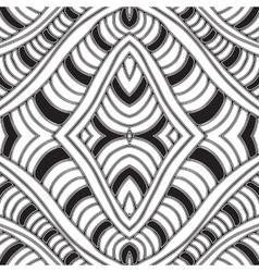 Seamless hand drawn vector