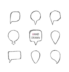 Hand drawn pointer vector