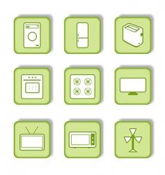 Homeware icon vector