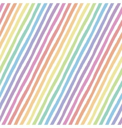 Retro seamless pattern with diagonal stripes vector image