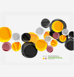 Color glossy squares with round angles vector