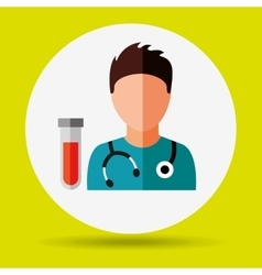 Health professional design vector