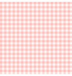 Classic Gingham pattern vector image