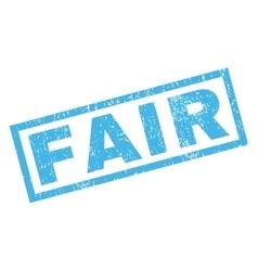 Fair rubber stamp vector