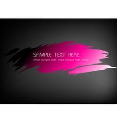 fresh pink wash vector image vector image