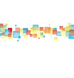 White rainbow backgrop vector image