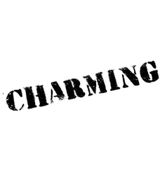 Charming rubber stamp vector