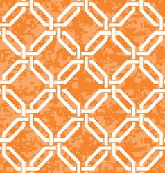 Interlocked octagons pattern vector