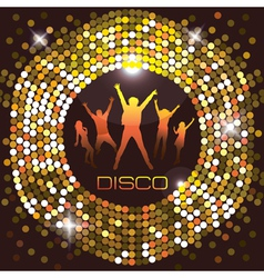 Nightclub city life vector
