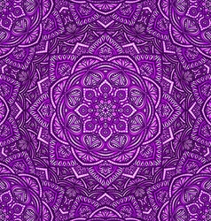 Violet floral ornament background vector