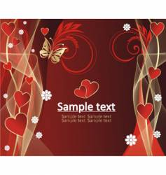 beautiful pattern with gold background vector image vector image