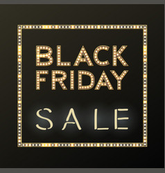 Black friday sale background on white discount vector