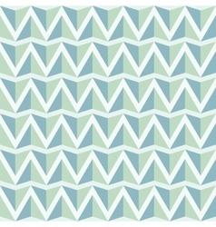 Geometrical light green blue seamless pattern vector image