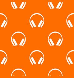 Protective headphones pattern seamless vector