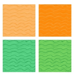 Wavy seamless backgrounds vector