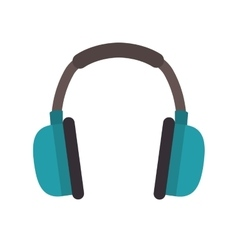 Headphone industrial security vector