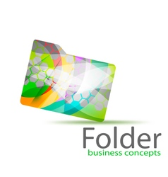 Folder business concepts vector