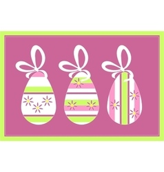 Holiday gift egg in color 11 vector