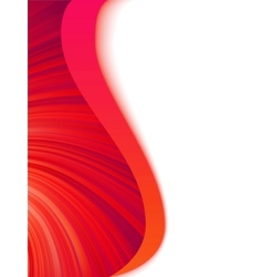 Abstract wave burst vector