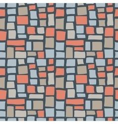 Abstract Cobble Bricks Seamless Pattern Texture vector image